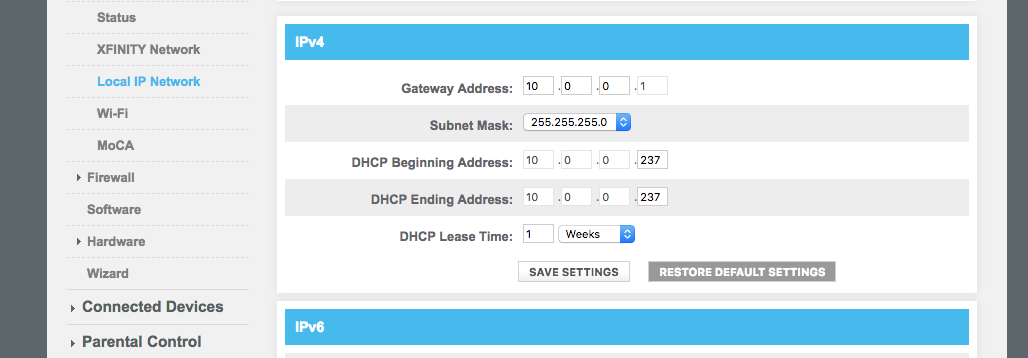 Setup Guide: Routers that are not able to turn off DHCP